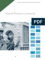 WEG Energia Lineas de Productos y Soluciones 50043402 Catalogo Espanol
