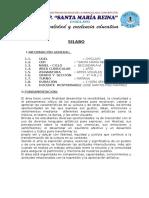 SILABUS DE ARTES VISUALES 4°