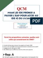 QCM + etude de cas