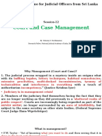 Case and Court Management