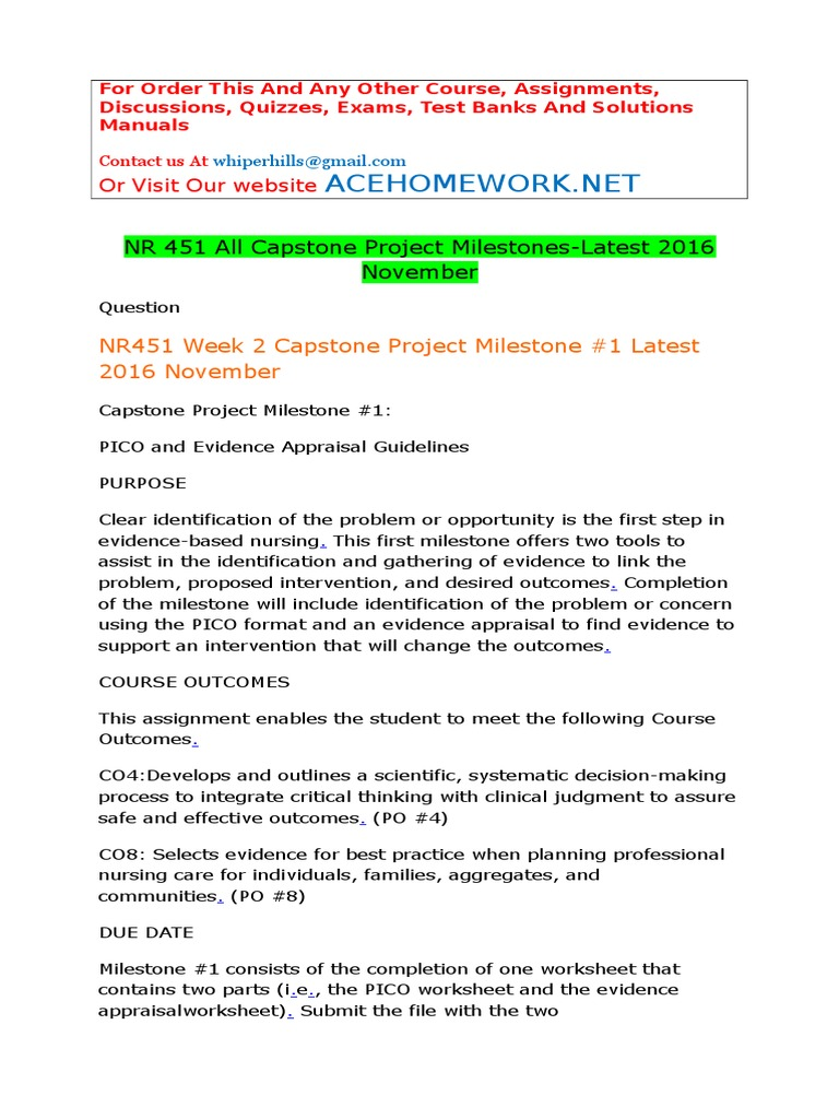 NR 451 All Capstone Project MilestonesLatest 2016 November – Criminal Thinking Worksheets