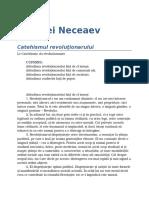 Serghei Neceaev - Catehismul Revolutionarului