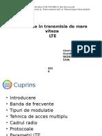 Semnale in Transmisia de Mare Viteza LTE