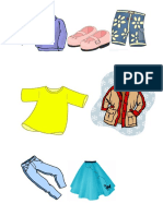 Tiger 2 clothes vocabulary practice