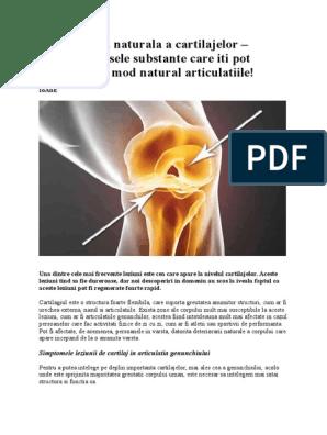 cazuri de regenerare a cartilajelor)