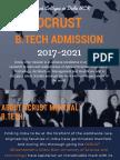 DCRUST Admission 2017