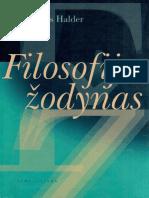 Alois.halder. .Filosofijos.zodynas.2002.LT - Work for downloading free
