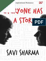 Everyone Has a Story Savi Sharma