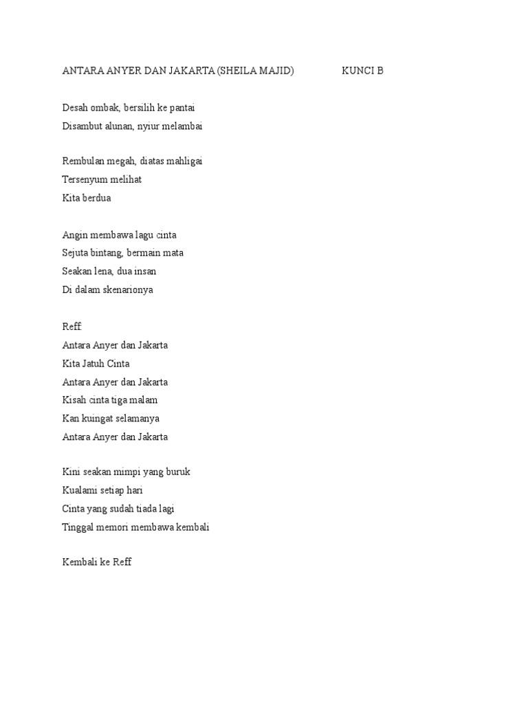 Lirik Lagu Rembulan