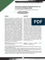UMA PROPOSTA DIDATICA PARA O ENSINO DE GEOMETRIA FRACTAL EM SALA DE AULA NA EDUCAÇÃO BASICA - 277-884-1-PB