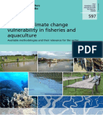 Assessing climate change vulnerability in fisheries and aquaculture