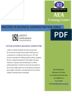 MBA Brochure USQ