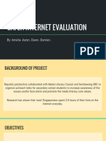 safer internet evaluation