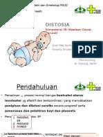 Referat Distosiaa FIX