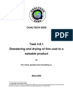 4.8.1 Dewatering and Drying of Fine Coal - Peter Hand