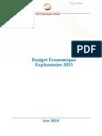 Budget économique exploratoire 2015 (version Française).pdf