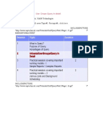 Working With Infosets User Groups Query in Detail