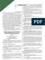 Decreto Legislativo que fortalece el Sistema Penitenciario Nacional y el Instituto Nacional Penitenciario