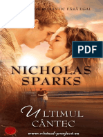 Nicholas Sparks-Ultimul Cantec