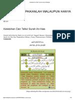Kelebihan Dan Tafsir Surah An-Nas _ Shafiqolbu.pdf