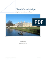 Proposal for Cambridge Documentary