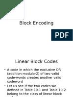 10 Block Encoding