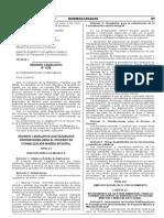 Decreto Legislativo que establece disposiciones para el proceso de formalización minera integral