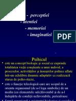 Curs 2 -Semiologia Perceptiei.atentie,Memorie,Imaginatieipptx