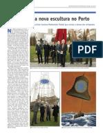 Página 20_Novas Do Eixo Atlántico - No. 25 - Xaneiro 2017 - Inaugurada Nova Escultura No Porto