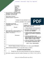 Deckers v. HM - Complaint