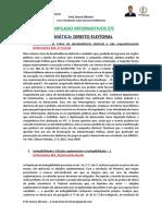 Compilado Informativos Stf - Temática Direito Eleitoral