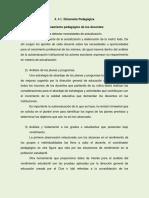 4 A1). Dimensión Pedagógica PDF