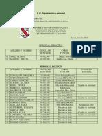 5 B) Organización y Personal PDF