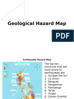Geological Hazard Map,Coping,Triggerlandslide