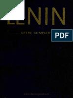 LENIN - Opere Complete. Volumul 02