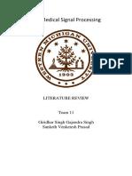 Biomedical Literature Review PDF