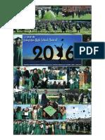 2016 Graduation Section