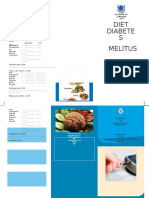 Brosur Diet Diabetes Melitus 2