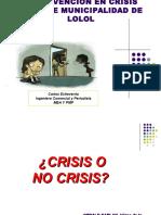 Curso Intervencion en Crisis