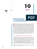 Cap 10 Intro Metabolismo Principios de Bioquimica Horton 4ed