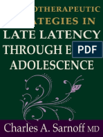 Psychotherapeutic Strategies Through Early Adolescence