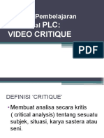 Power Point Video Kritik