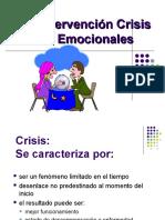 Curso Intervencion en Crisis Clase La Intervencion
