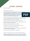 Sap Abap QUESTION /ANSWER