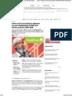 India Today Zakir Naik PayU Deleted Article