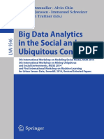 (Lecture Notes in Computer Science 9546) Martin Atzmueller, Alvin Chin, Frederik Janssen, Immanuel Schweizer, Christoph Trattner (Eds.)-Big Data Analytics in the Social and Ubiquitous Context_ 5th I