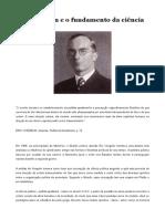 Eric Voegelin e o Fundamento Da Ciência Política