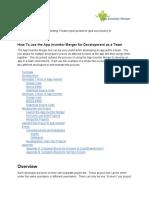 A i Merger Documentation