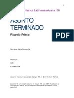 ASUNTO TERMINADO Ricardo Prieto
