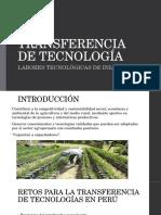 INIA - Transferencia de Tecnología